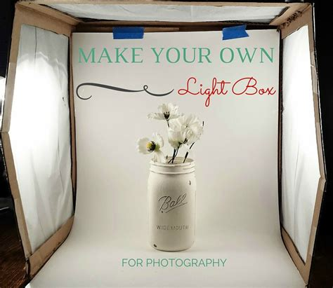 how to make a light box for pictures diy light box for photography