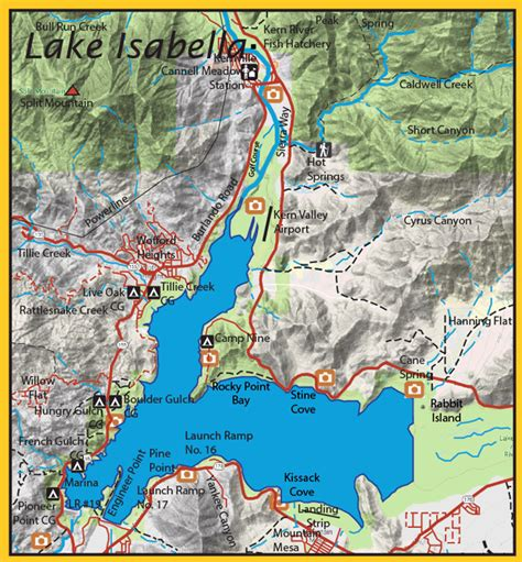 lake isabella southern sierra