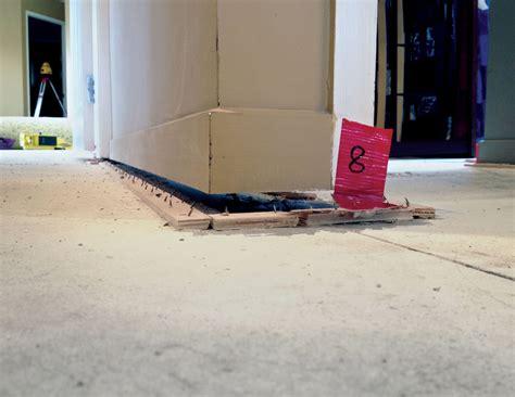 Sinking Floors  Raise Foundation Mainmark