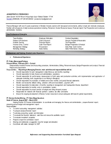 resume references wil be furnished upon request resume jkfs
