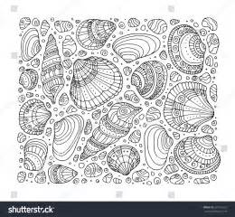Adult Coloring Pages Beaches