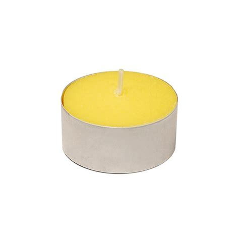 citronella l home depot lumabase extended burn citronella tealight candles 100