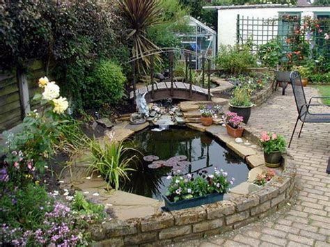 beautiful small backyard gardens basics points you need to consider for planning garden ponds home design interiors