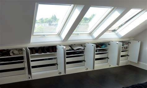 Storage solutions for small bedroom, unfinished attic