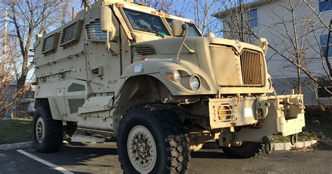 Belleville police ponder future of armored vehicle