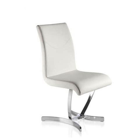 chaises design salle à manger chaises salle à manger design comfy blanches x4 achat