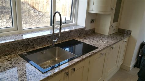 overmount kitchen sink on granite sink cut outs drainer detail