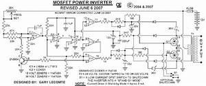 500w Mos Fet Power Inverter From 12v To 110v 220v
