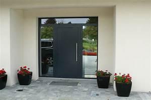 portes d39entree sur mesure ternois fermetures With porte de garage et belle porte interieur