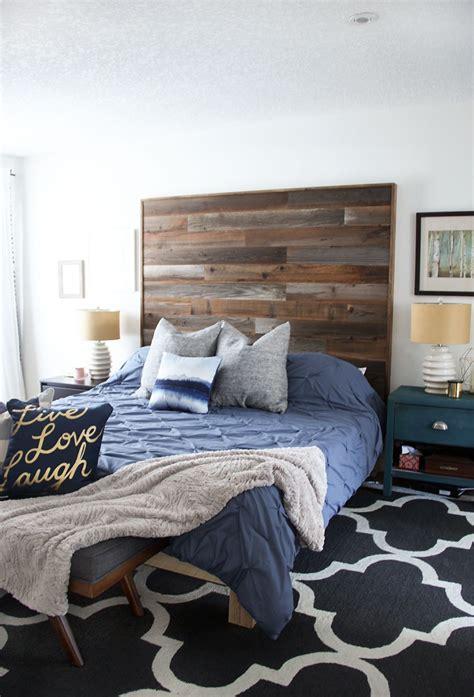 modern rustic master bedroom reveal fresh crush