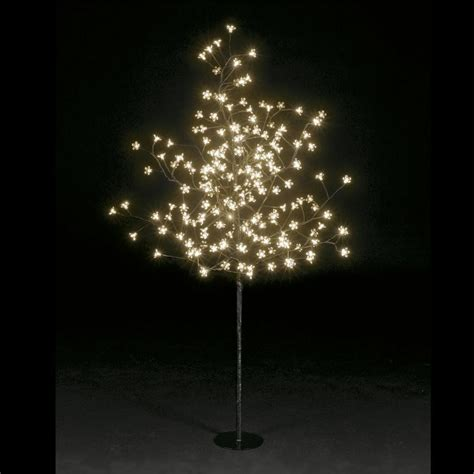 Trees With Led Lights by 5ft 1 5m 200 Led Lights Cherry Blossom Tree