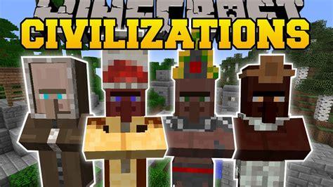 Civilizations Mod (new Buildings, Villagers