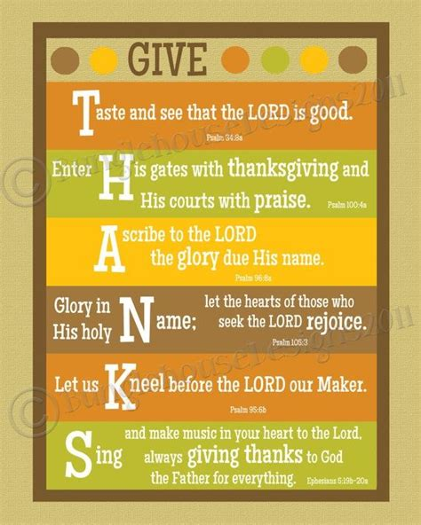 thanksgiving scripture my saviour
