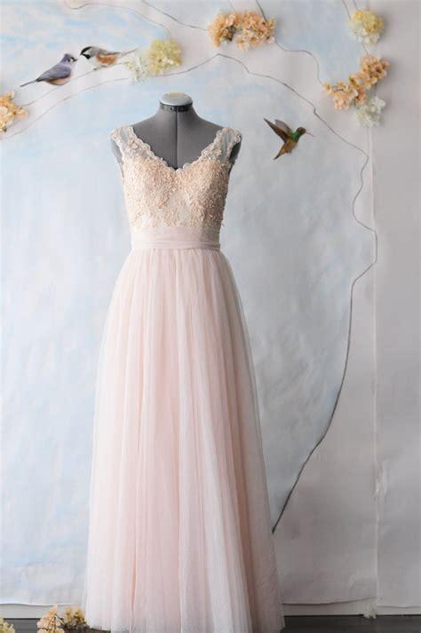 peach  light blue wedding  merry bride