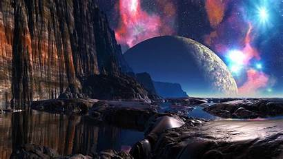Fantasy Wallpapers Planet Worlds Planets Background Myshuno