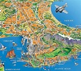 Cape Town Map: A Closer Look At The Famous and Beautiful City