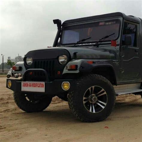 Mahindra Thar Jeep Modified Pics Best Hd Wallpaper