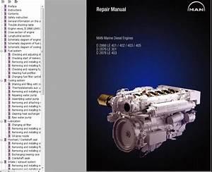 Man Marine Diesel Engine D2866le 401-405