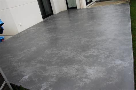 terrasse en beton cire exterieur nos conseils