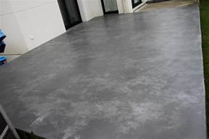 terrasse beton cire beton decoratif exterieur le beton With beton cire pour terrasse