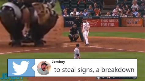 fan video perfectly explains  astros cheating