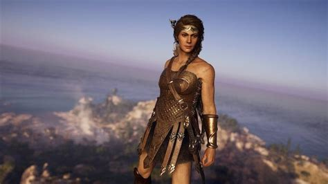 Assassin S Creed Odyssey Player Gives Kassandra A Wonder Woman Outfit