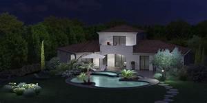 Eclairage Exterieur Jardin : eclairage jardin 3d ~ Melissatoandfro.com Idées de Décoration