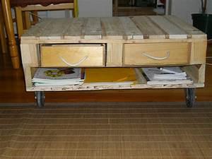 Plan Meuble Palette : tuto meuble avec palette ~ Dallasstarsshop.com Idées de Décoration