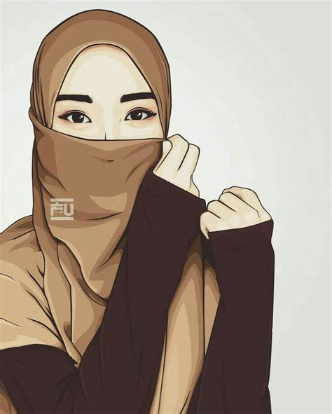 pin  mysha khan  dpzz wallpapers hijab cartoon