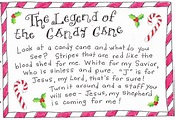 Christmas Candy Cane Poems For Preschool | New Christmas ...