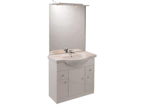 bloc cuisine pas cher bloc l 80 cm salle de bain turin coloris blanc vente de
