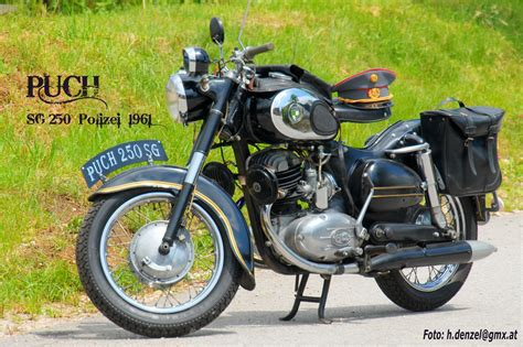 Puch 250 Sg Polizei 1961