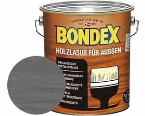Holzlasur Grau Außen : bondex holzlasur dunkelgrau 4 l bei hornbach kaufen ~ Yasmunasinghe.com Haus und Dekorationen