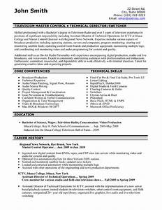 television master controller resume sample template With master resume writer
