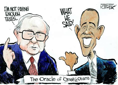 is warren buffett s support for higher taxes a way of paying back politicians for big government