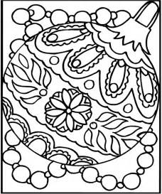 free coloring page ornament 1