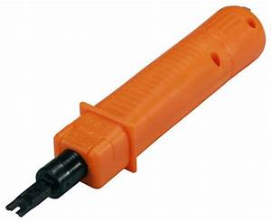 110 Punch Down Tool For Category 5 5e 6 Patch Panel