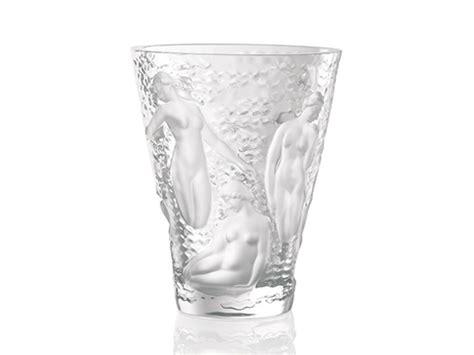 vasi lalique vaso ondines in cristallo lalique serra roma