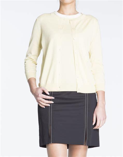 sweater shorts yellow knit sweater set