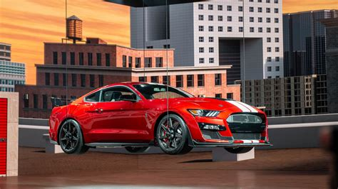 ford debuts 2020 shelby gt500 2020 ford mustang shelby gt500 arrives with venom