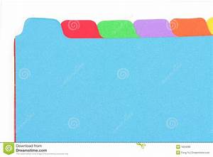 file divider stock photo image of label filing document With document divider