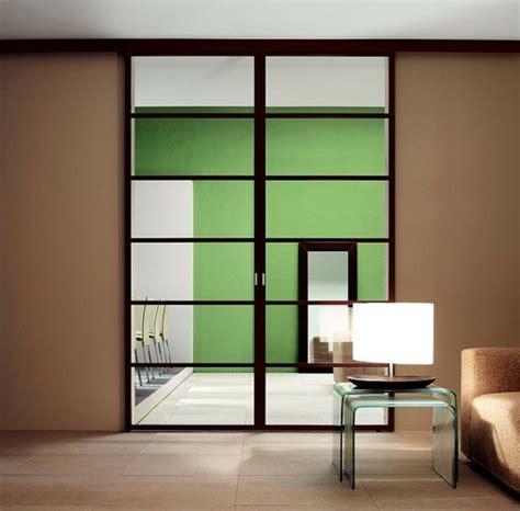 chambre a coucher style les portes intérieures vitrées laissons les intérieurs