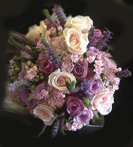 purple wedding flowers ideas  pinterest lilac
