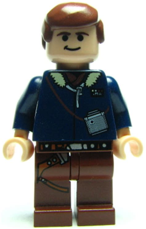 bricker lego minifigure sw han solo reddish brown