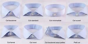 Chemise Homme Col Rond : col de chemise comment bien choisir ~ Voncanada.com Idées de Décoration