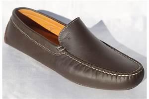Chaussure De Ville Homme Marron : mocassin de ville cuir marron cousu main ~ Nature-et-papiers.com Idées de Décoration