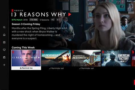 netflixs tv app   remind    shows