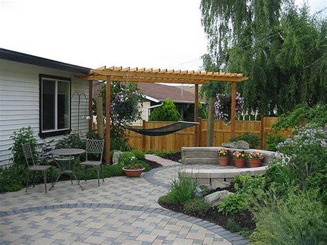 Image Of Backyard Patio Ideas Cheap For Home  Modern Garden