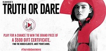 U SEEK Blumhouse's Truth or Dare Promotion - Win $500 Gift ...
