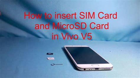 how to take sim card out of iphone 4 how to insert sim card and mount microsd card in vivo v5 21407